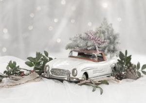 Weihnachten Auto Dekoration